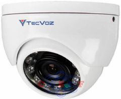 Câmera Mini Dome HS Digital Infra Red Tecvoz DMHS12 12Mts Lente 3.6 1/3 700 TVL
