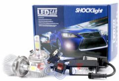 Kit Lâmpada Farol SHOCKlight BI-LED H4 32W 12Va24V 6000K 2200 Lumens SLL-10004