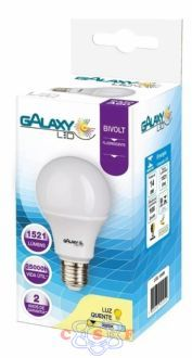 Lampada Led's Galaxy 14W = 100W Bivolts 6500K